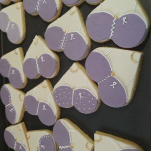 Breast cancer biscuits for Keystone Medical 500