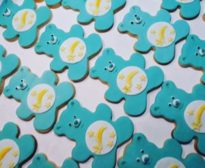 Homemade biscuits: Care Bears A
