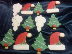 Christmas biscuits - D