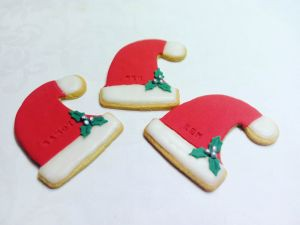 Christmas biscuits - elf-hat &300