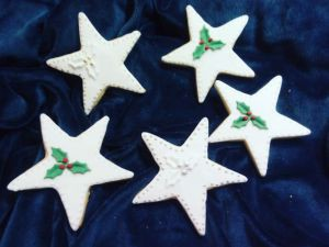 Christmas biscuits - stars