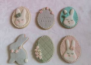 Easter biscuits - Bunnies E