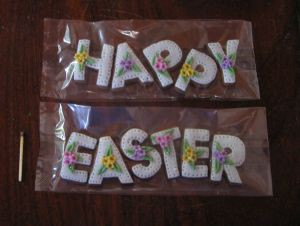 Easter biscuits - Happy Easter