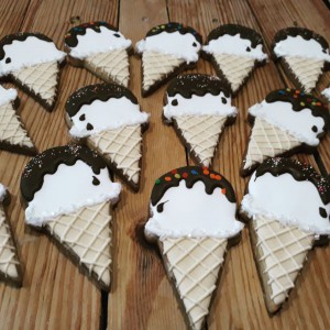 Icecream cone biscuits-cookies 600