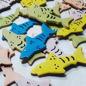 Homemade Sharks biscuits 300