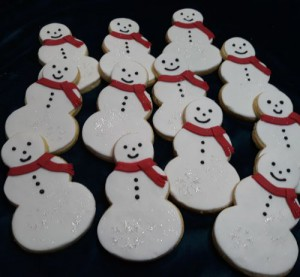Snowmen biscuits 500