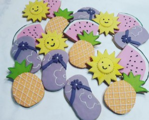 Summer Themed Biscuits